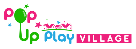 Pop Up Play Village Retina Logo