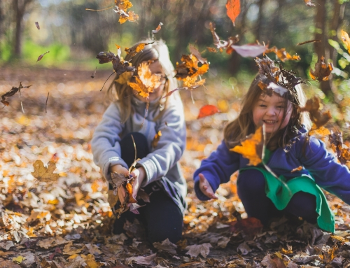 How can time outdoors build social skills in children?