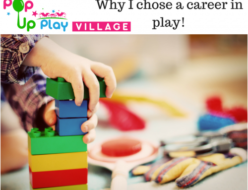 Why I chose a career in play?